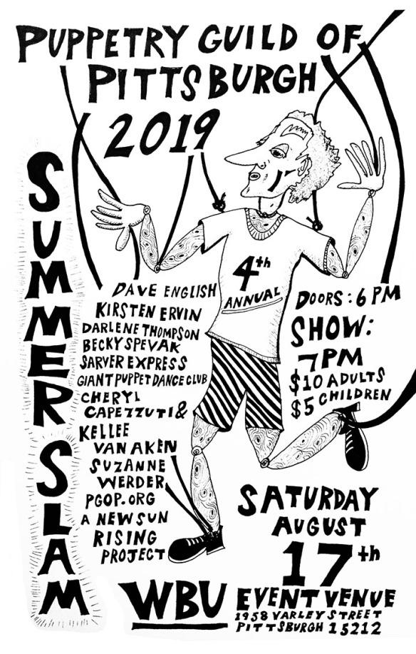 Tom Sarver poster 2019